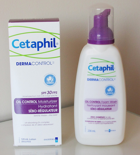 The Blushing Introvert: The Cetaphil Dermacontrol line