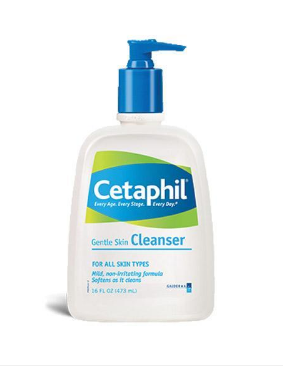 "Elle Canada names Cetaphil Gentle Skin Cleanser in its list of skin cleansing ""Cult Faves."""